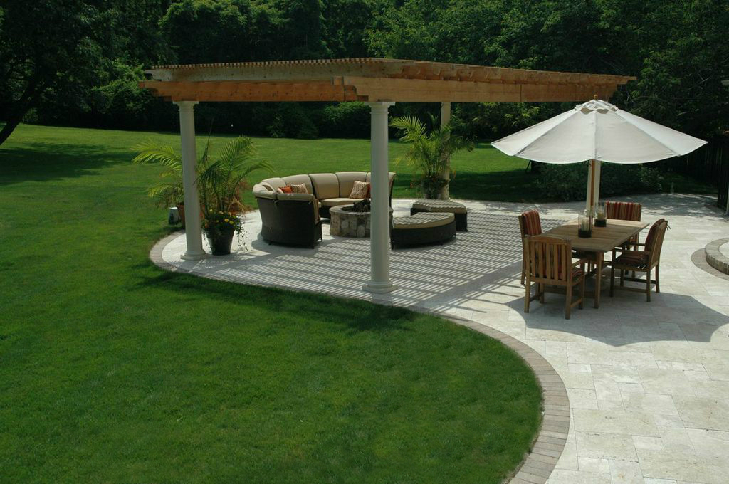 Are You Thinking About Travertine for Your New Patio ... on Travertine Patio Ideas id=69951