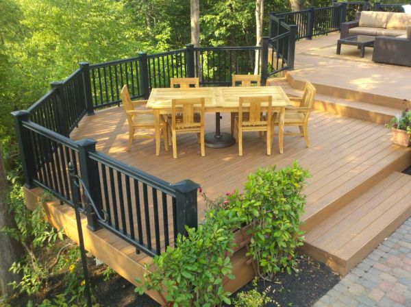 outdoor patio deck Design/Build Decks: Getting Creative in Your Deck Design
