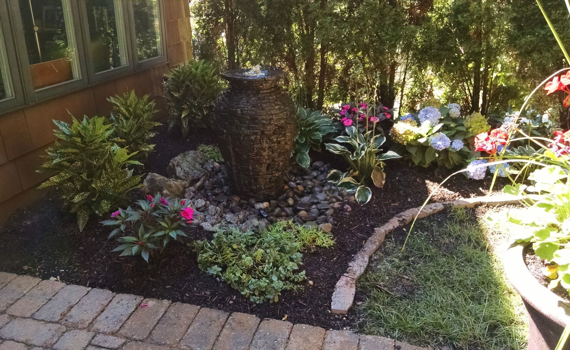 Garden Pond Fountain Ideas