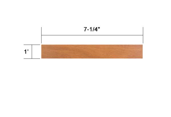 Ipe 5/4x8 dimensional lumber