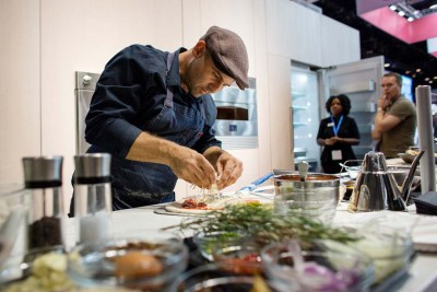 GE Appliances Chef Liberto Demo
