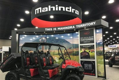 Mahindra Farm Machinery Show