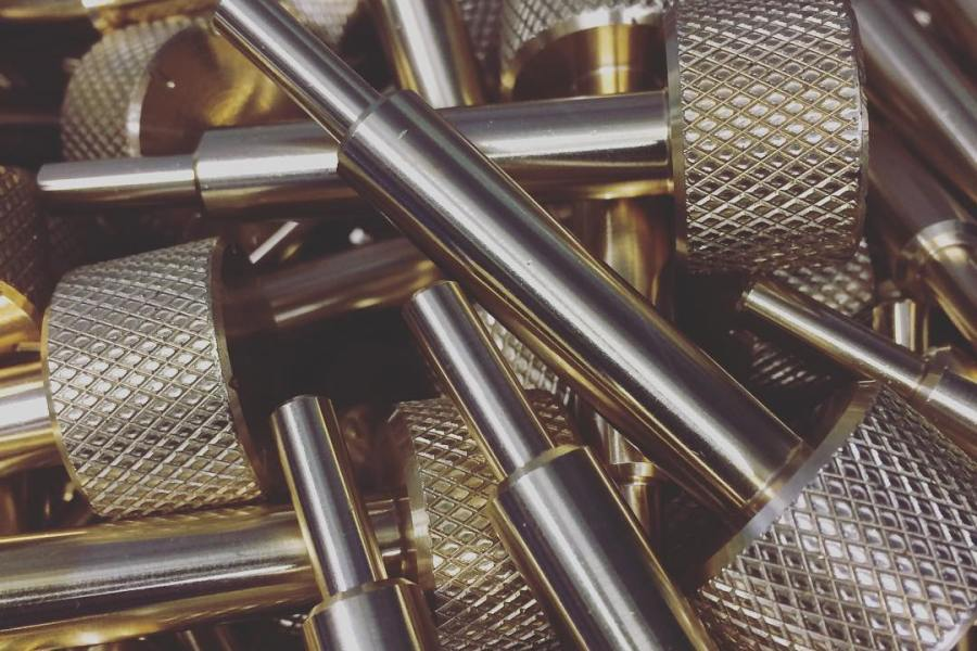 Machined Parts: Brass Adjustment Screw Blanks