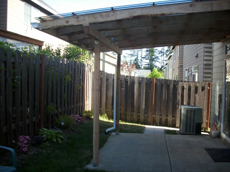 Patio Cover French Drain And Pavers Deck Masters Llc