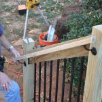 How To Install Deck Stair Railings Decks Com