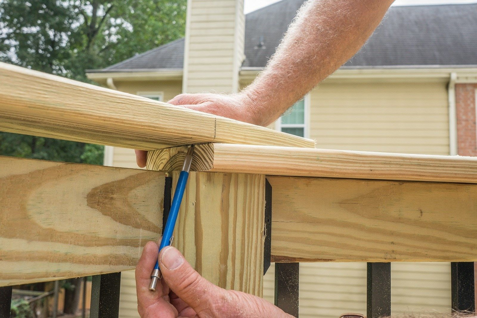 Deck Railing Top Cap