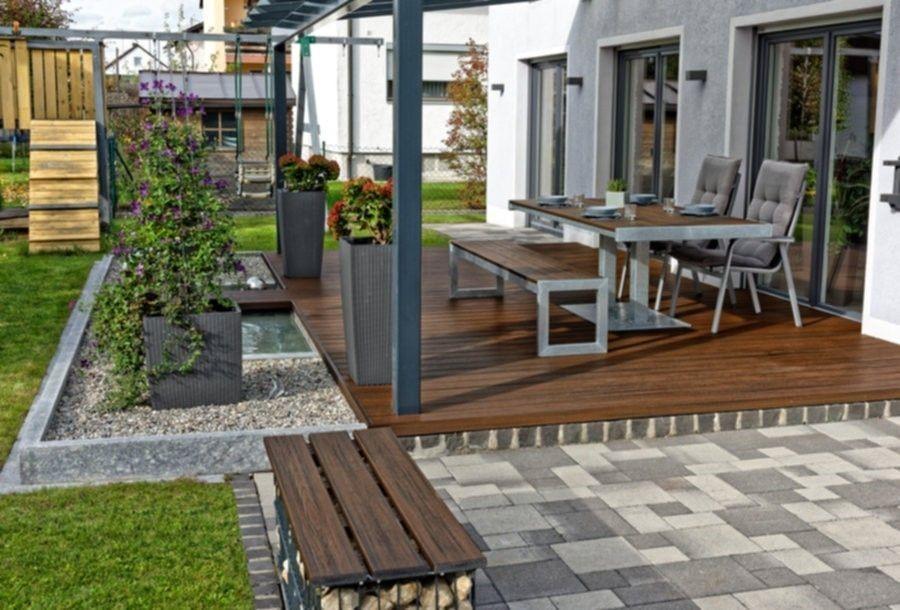 Backyard Patio Ideas and Inspiration for 2020   Decks.com on Backyard Deck Designs id=49768