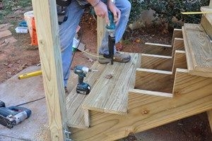 How To Build Deck Stairs Steps Decks Com | Best Wood For Outdoor Stairs | Deck Railing | Stair Stringer | Handrail | Staircase | Railing