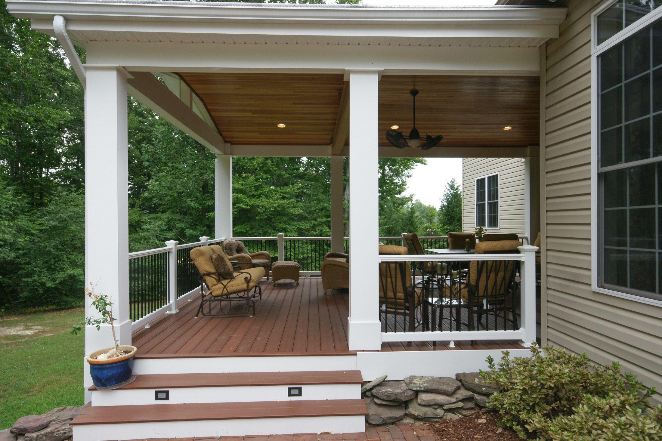 Decks.com. Hughesville deck - Picture 1595 on Enclosed Back Deck Ideas id=79702