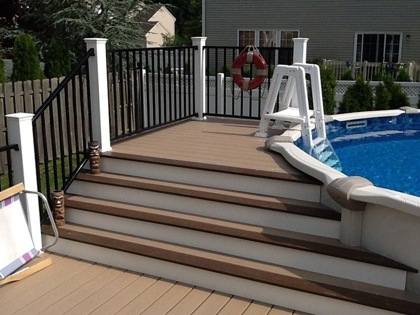 Decks Com Above Ground Pool Deck 1 Picture 1109