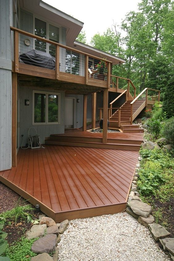 Japanese Deck Railing Designs