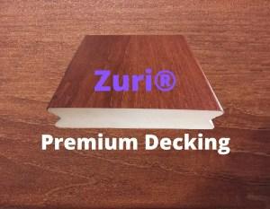 Zuri premium pvc decking