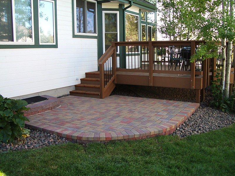 Deck & Patio Combinations - DeckTec Outdoor Designs on Outdoor Deck Patio Ideas id=29886