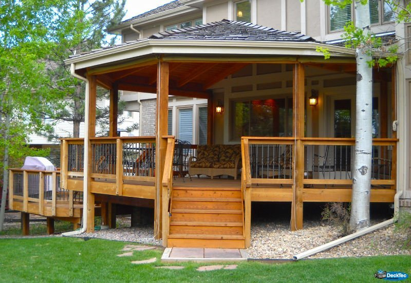 Custom Roof Additions - DeckTec Outdoor Designs on Add On Patio Ideas  id=81090