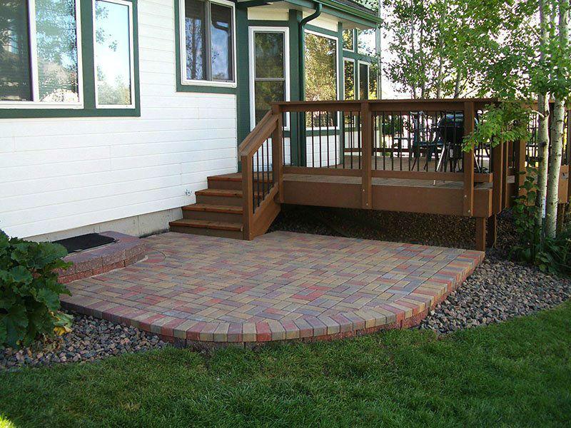 Deck & Patio Combinations - DeckTec Outdoor Designs on Backyard Porch Ideas  id=47403