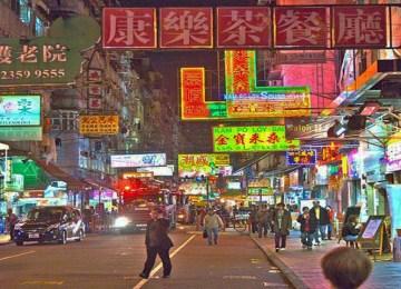 CHINA AMPUTA LIBERDADES DE HONG KONG (12/11/2018)