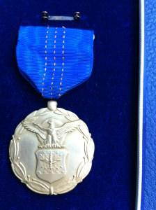 Obverse of Cristofv medal