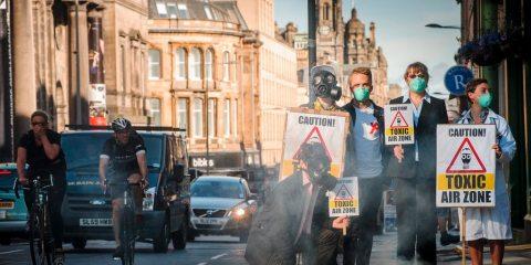 la pollution annule les bénéfices de la marche