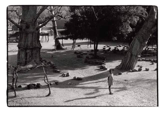 Kani-Kombolé, place du marché, Mali, clichés noir et blanc argentique, Jean-Pierre Devals
