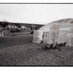 Petit matin à Tintchinomé, Mali, noir et blanc argentique, Jean-Pierre Devals