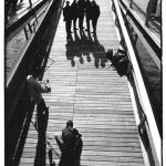 Passage Simone de Beauvoir, photo noir et blanc, Jean-Pierre Devals