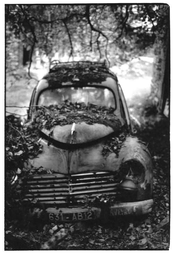 La 203, Aveyron, photo noir et blanc, Jean-Pierre Devals