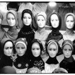Vendeuse de jilbab, Indonésie, photographie, Jean-Pierre Devals