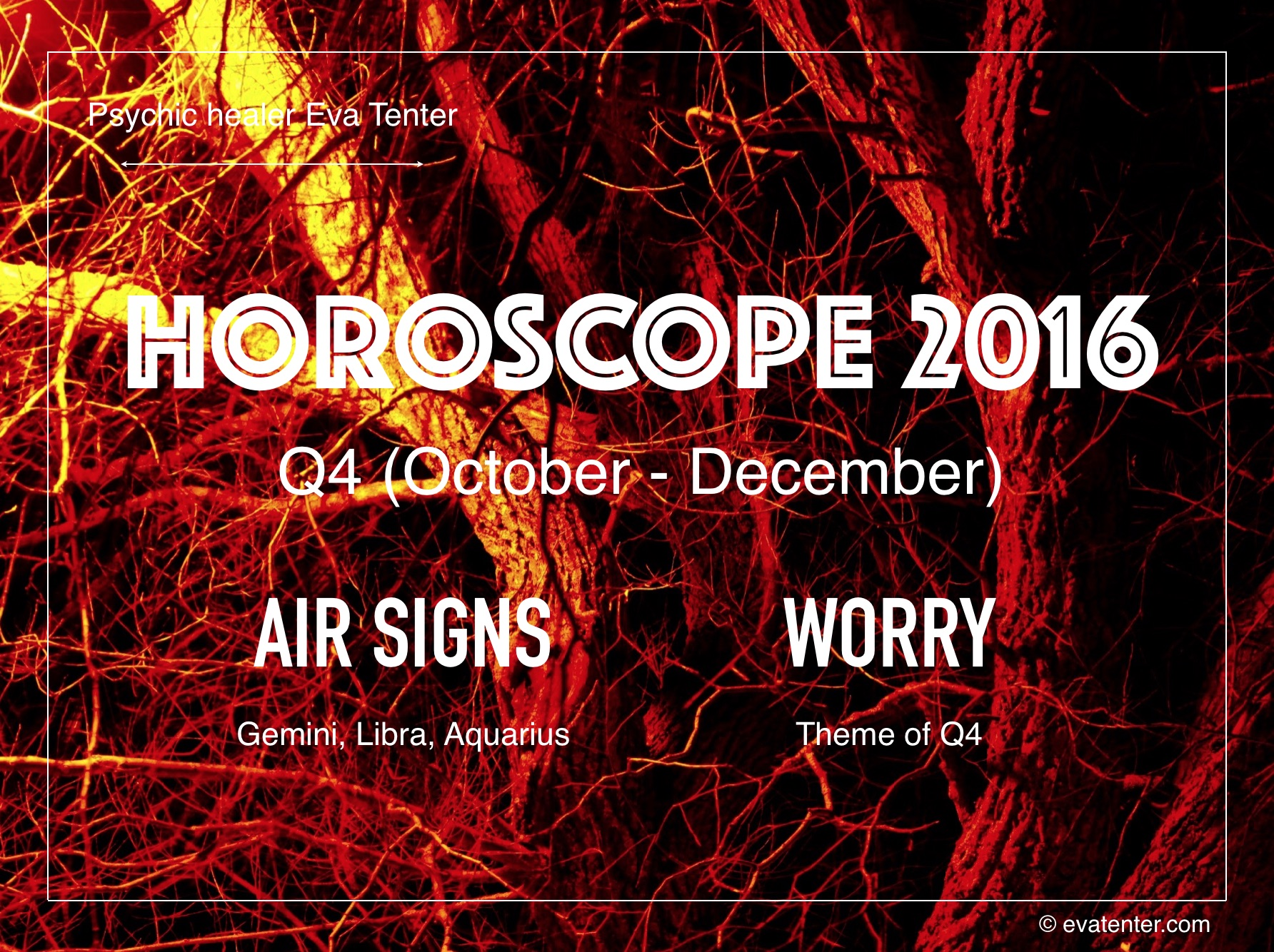 Horoscope Q4 2016 (October-December) – Air Signs #horoscopes
