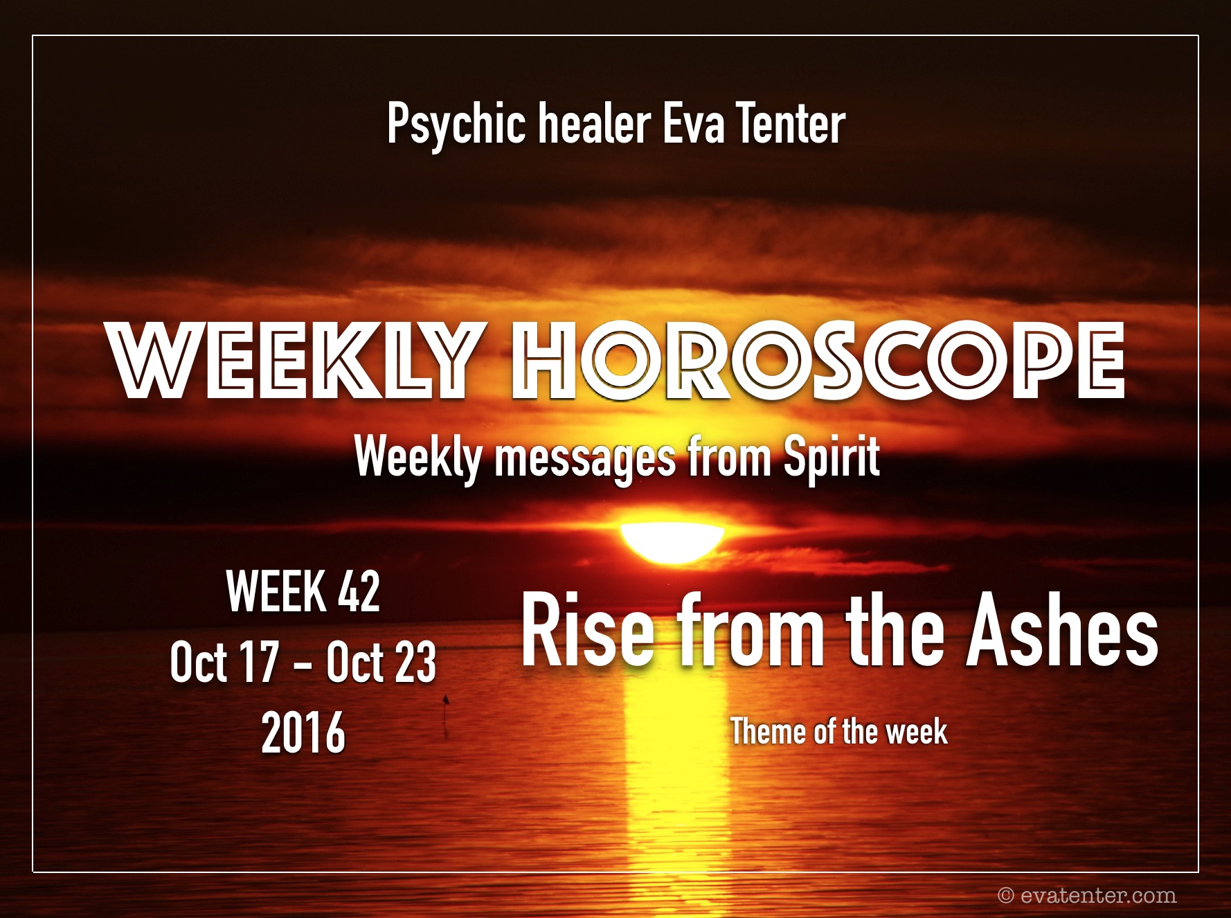 Weekly Horoscope Oct 17-Oct 23, 2016 #horoscopes