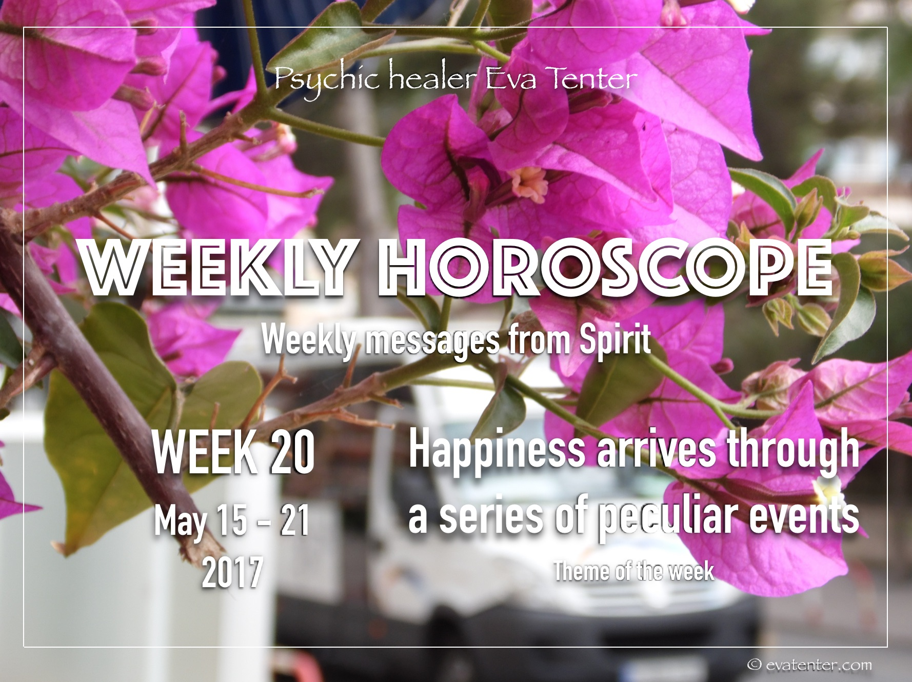 Weekly horoscope May 15-21, 2017 #horoscope #psychictarot