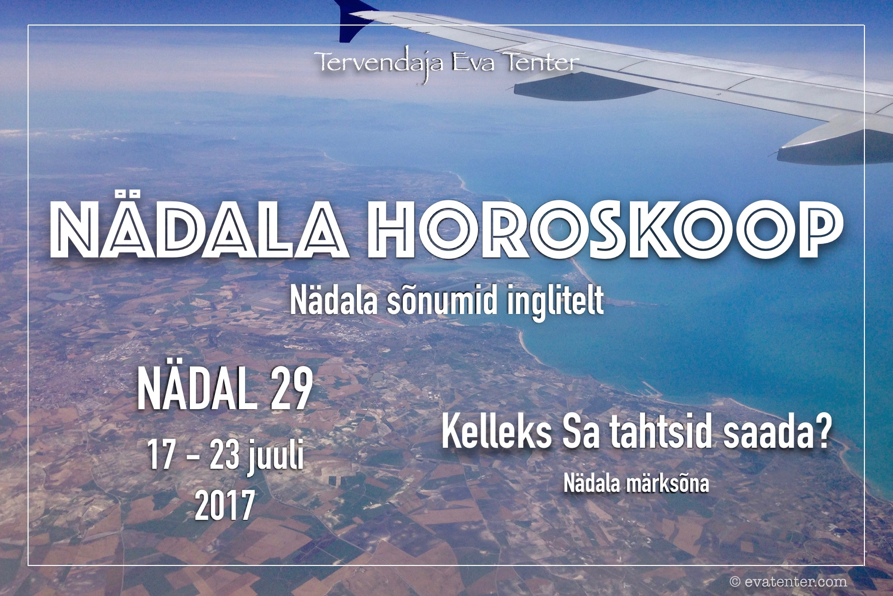 Nädala horoskoop 17.07-23.07.2017