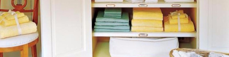 DIY Linen Closet Decluttering and Organization Ideas