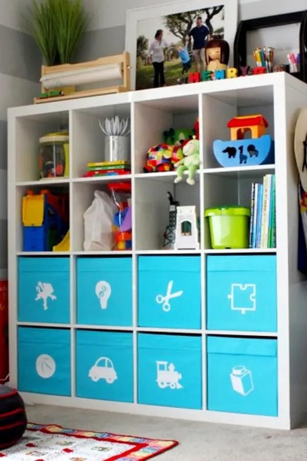 Toy organization ideas - #organizationideasforthehome #getorganized #momhacks #gettingorganized #lifehacks