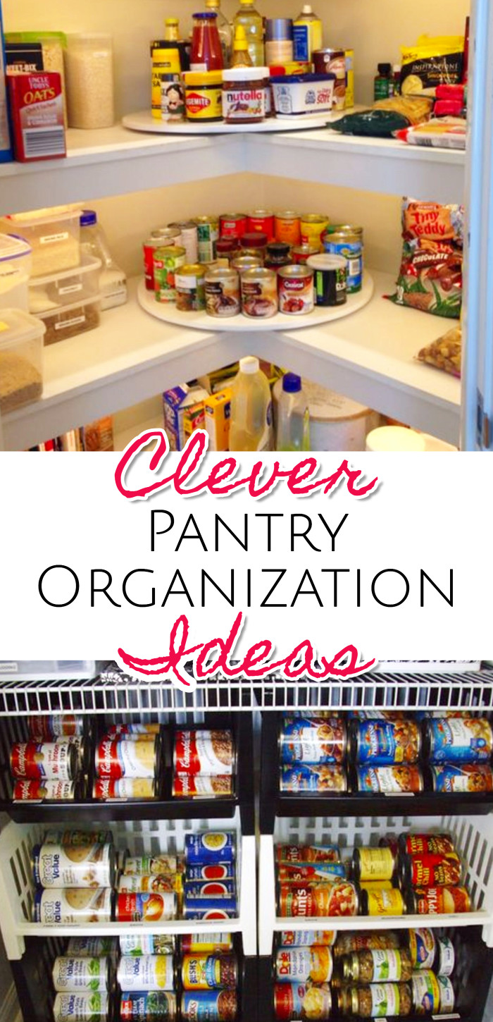 Clever pantry organization hacks and DIY ideas to organize the kitchen pantry