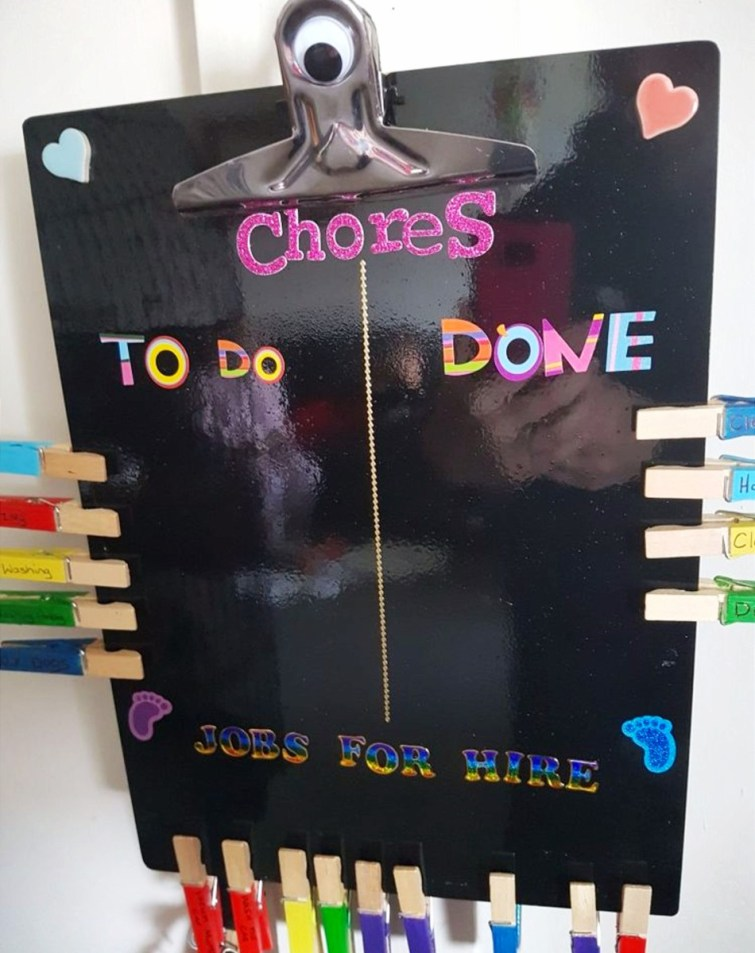 DIY chore chart ideas to make for your kids.