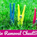 Stain Removal Hacks Every Mom Should Know