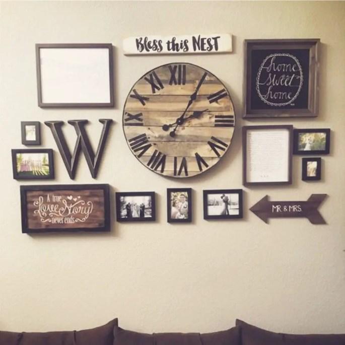 100 Diy Farmhouse Home Decor Ideas: Accent Wall Decorating Ideas To