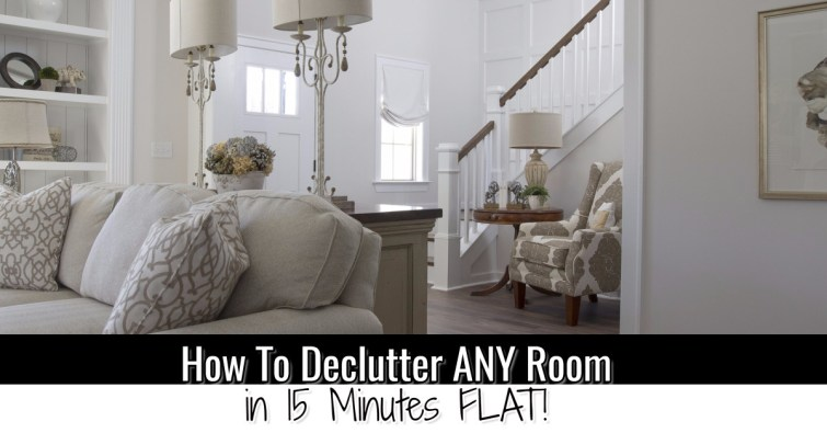 How to declutter your room FAST