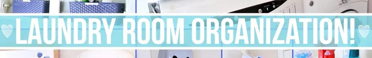 small laundry room organizing ideas, hacks and tips