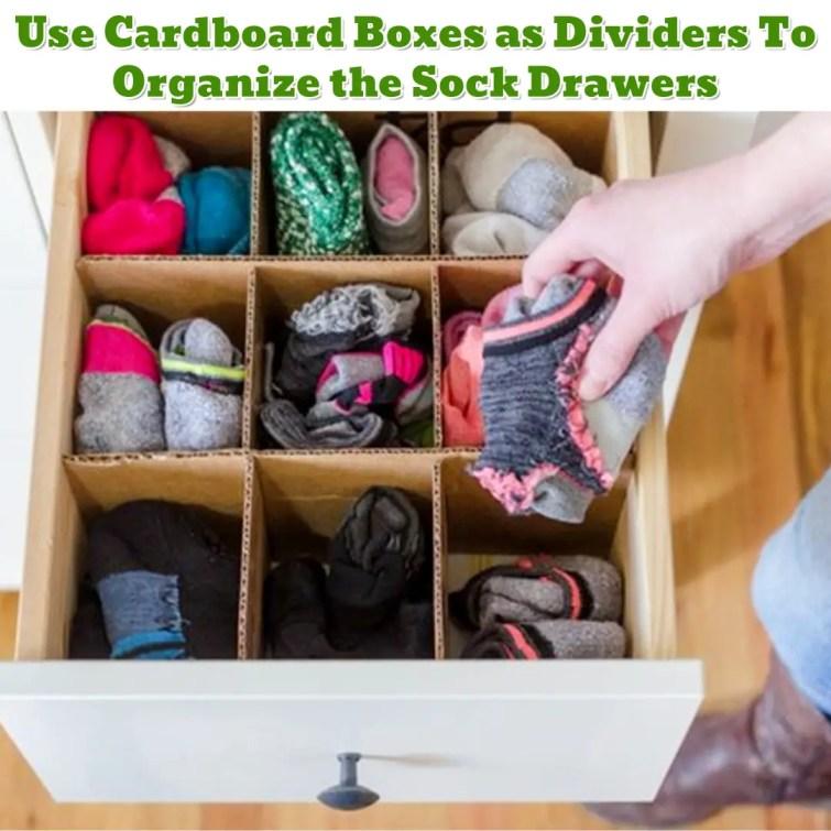 Sock drawer organization hack - Getting Organized - 50+ Easy DIY organization Ideas To Help Get Organized