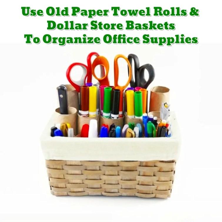 Craft and office organization DIY ideas - Getting Organized - 50+ Easy DIY organization Ideas To Help Get Organized