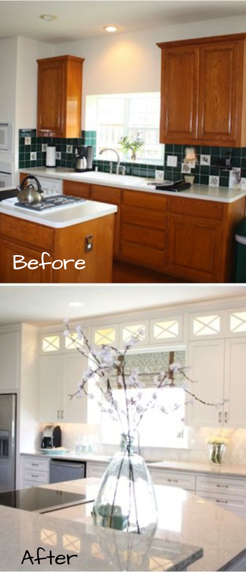 Small Kitchen Remodel   Before And After Pictures Of Small Kitchen Makeovers