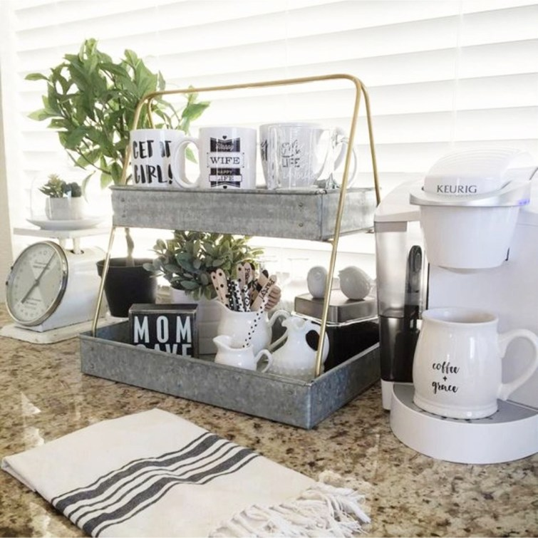 Coffee area in my kitchen