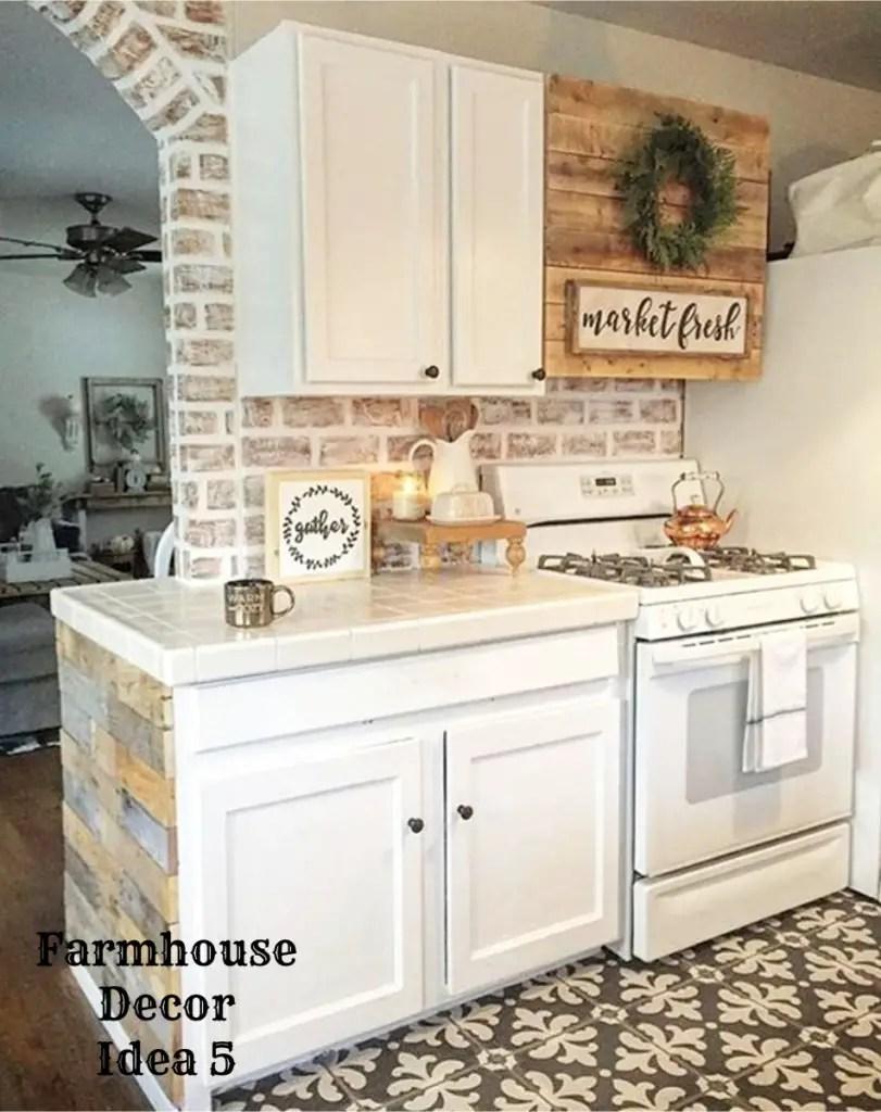 Farmhouse Decor Clean Crisp Organized Farmhouse Style