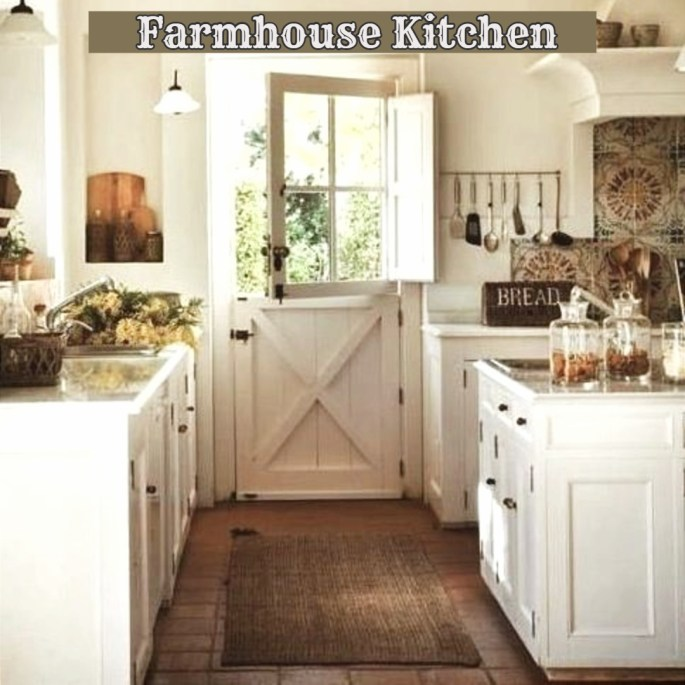 {Farmhouse Style!} Clean, Crisp & Organized Farmhouse