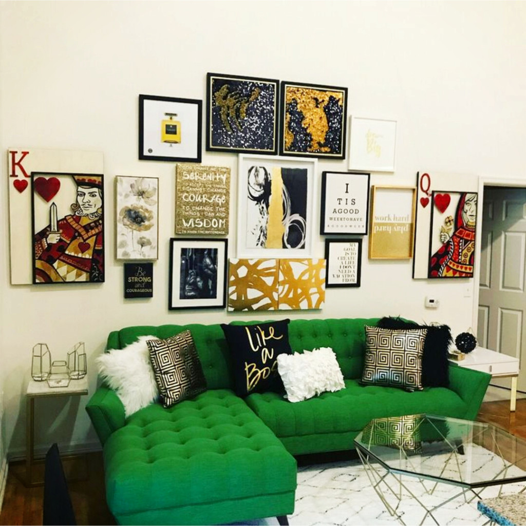 Diy Gallery Wall Ideas Accent Wall Decorating Ideas To