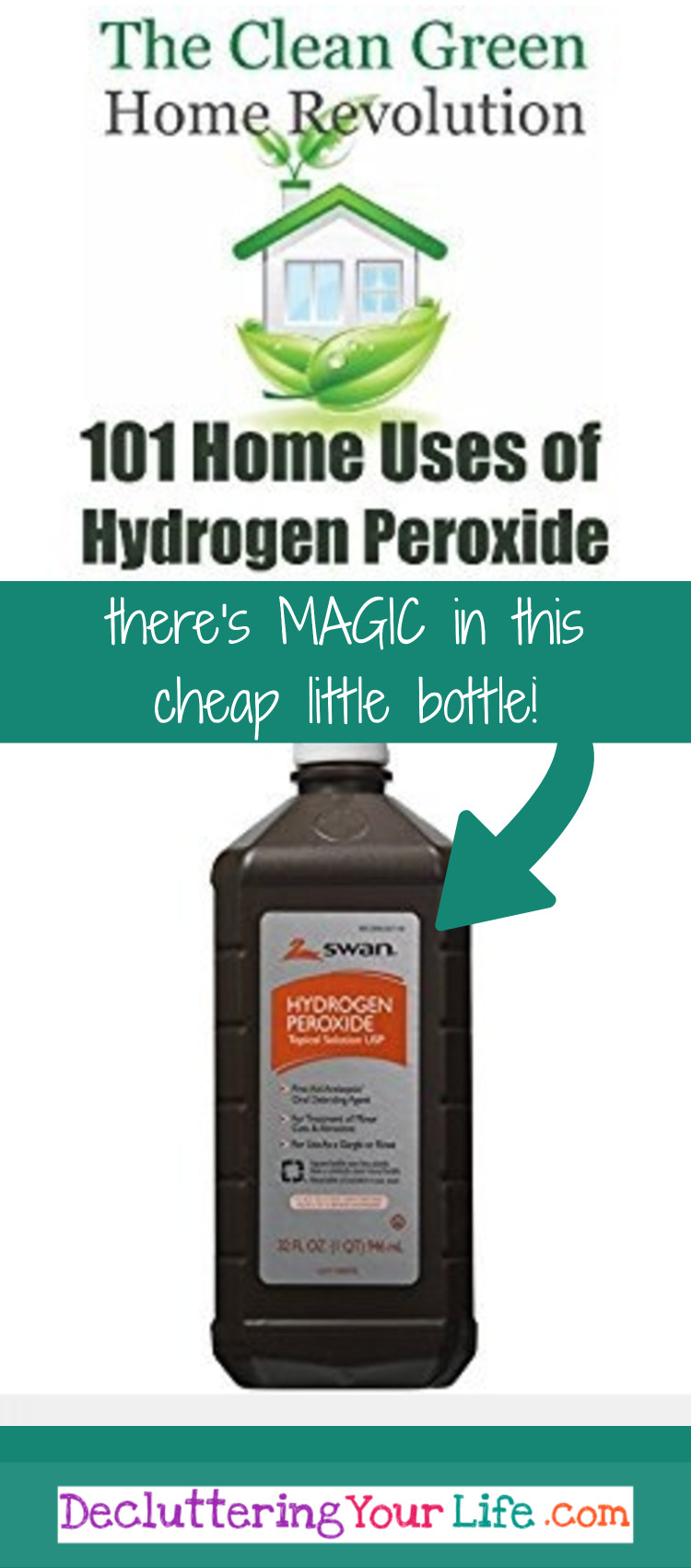 Hydrogen Peroxide Uses - How to use Hydrogen peroxide as a cleaner, sanitizer, disinfectant, and germ KILLER!