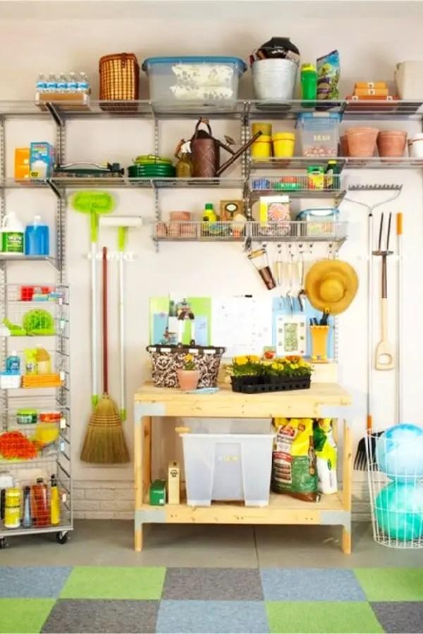 Garage organization quick and cheap organizing