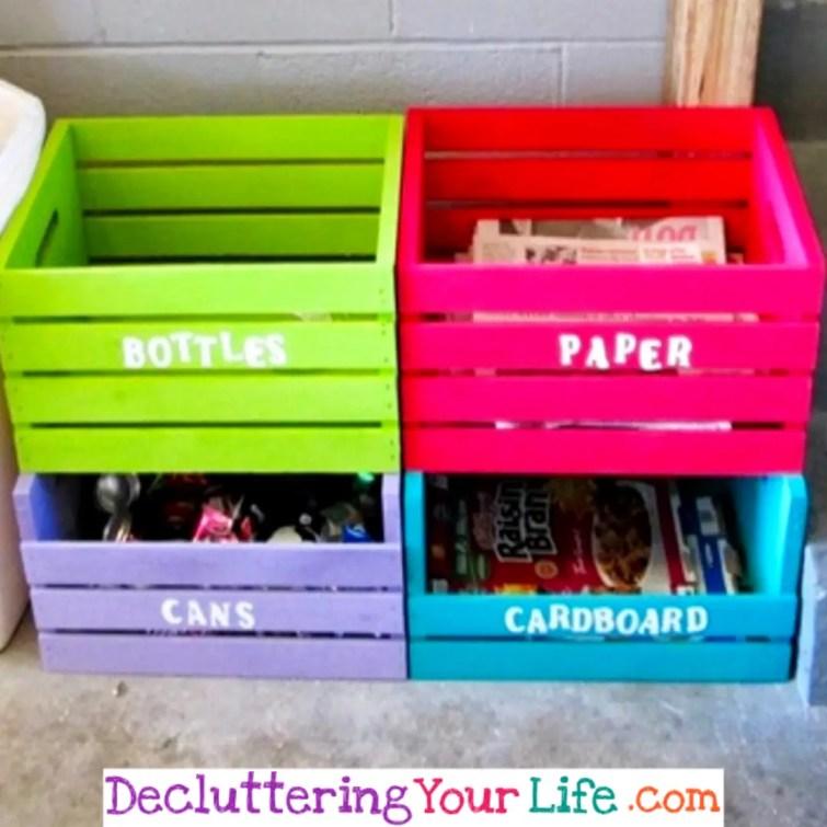 DIY organization ideas and organizing hacks #gettingorganized #goals #organizationhacks #homeorganization
