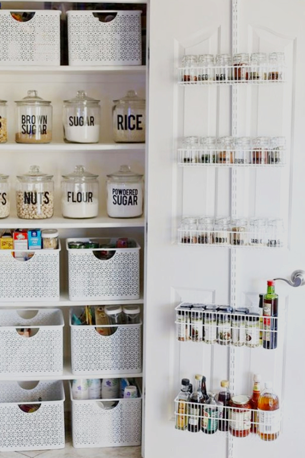 Small Apartment Kitchen Storage Ideas   Use Baskets To Make More Storage  Space
